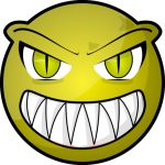 scary-face-frm clipart