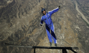 This Skydiver Jumped From A Plane With No Parachute And Lived